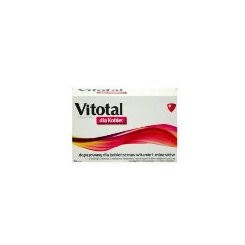 Tabletki VITOTAL DLA KOBIET 30 TABLETEK