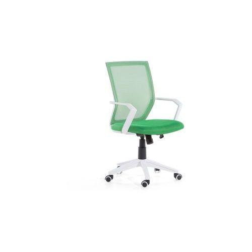 Krzesło biurowe zielone regulowana wysokość RELIEF