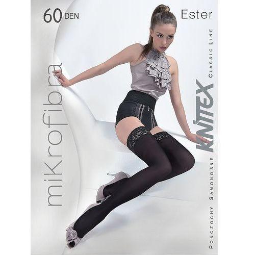Pończochy Knittex Ester 60 den 3-M, czarny/nero. Knittex, 2-S, 3-M, 4-L