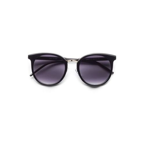 Bonprix Okulary przeciwsłoneczne czarny - złoty kolor