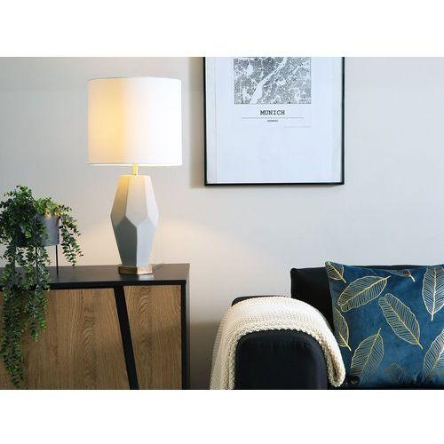 Lampa stołowa kremowa 66 cm OXLEY