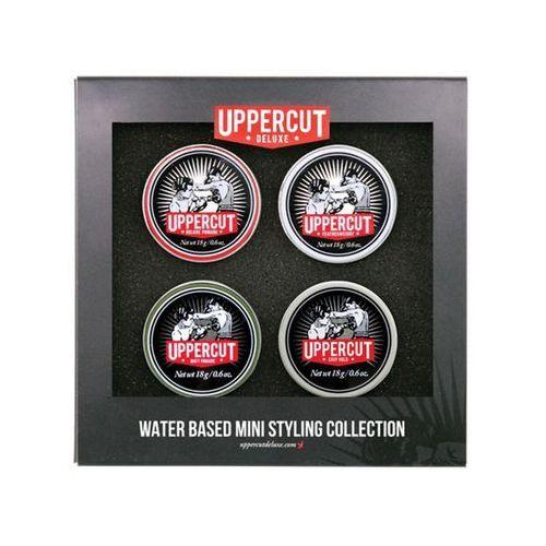 Kosmetyki uppercut Zestaw 4 pomad do włosów - mini styling collection - uppercut deluxe
