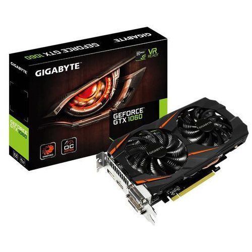 Gigabyte GeForce GTX 1060 WindForce OC 6G 6GB