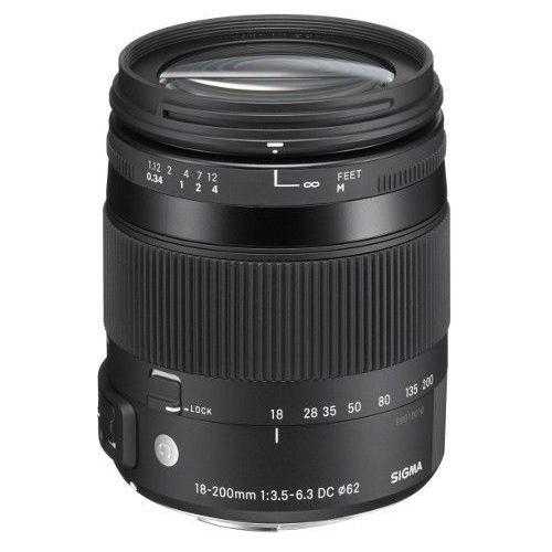 Sigma  18-200 mm f/3.5-6.3 dc macro os hsm canon