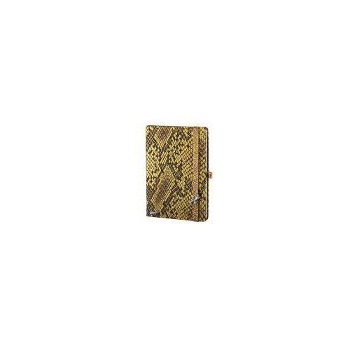 Notes a5 lanybook snake sharmer w kratkę żółty marki Lediberg