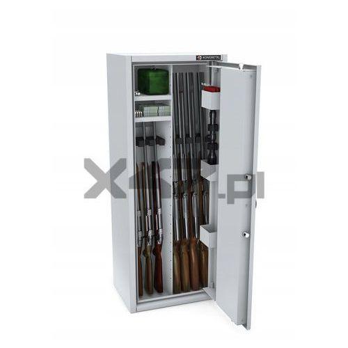 Szafa na broń długą mlb 125p/4+4 cl s1 - zamek szyfrowy marki Konsmetal