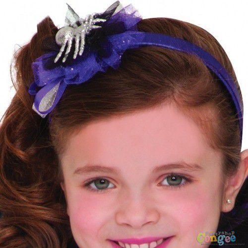 Amscan Kostium miss pajęczyny dla dziewczynki - 5/7 lat (116) (0013051492465)