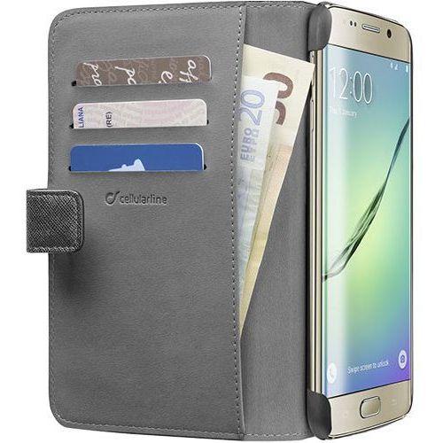 Etui CELLULAR LINE Book Agenda do Samsung Galaxy S6 Edge Plus Czarny, kolor czarny