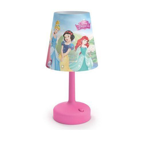 Philips 71796/28/16 - Lampa stołowa dla dzieci DISNEY PRINCESS LED/0,6W/3xAA - produkt z kategorii- Oświetlenie dla dzieci