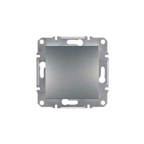 Przycisk jednobiegunowy Schneider Asfora EPH0800362 zaciski śrubowe pojedynczy stal
