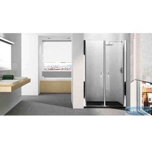 Swissliniger Drzwi prysznicowe składane liniger d1900 - bi fold