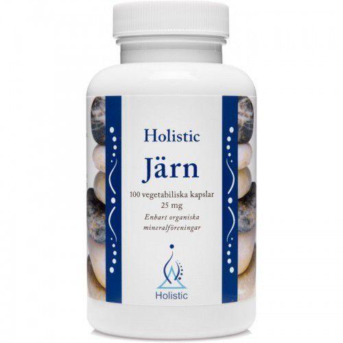 Holistic Järn łatwo przyswajalne żelazo 25 mg 100kaps.