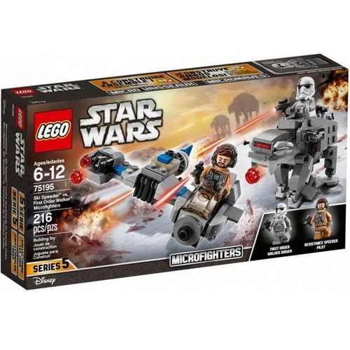 Star wars tm ski speeder kontra maszyna krocząca marki Lego