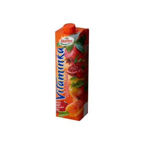 Hortex 1l vitaminka superfruits acerola z granatem marchewką i jabłkiem sok   darmowa dostawa od 150 zł! (5900500030222)