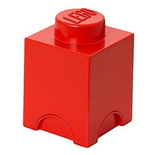 POJEMNIK LEGO 1 CZERWONY - LEGO POJEMNIKI
