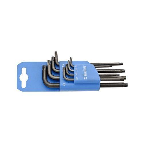 Zestaw narzędzi o profilu TX na plastikowym wieszaku TX9-40 Unior (613089) 220/7TXPH