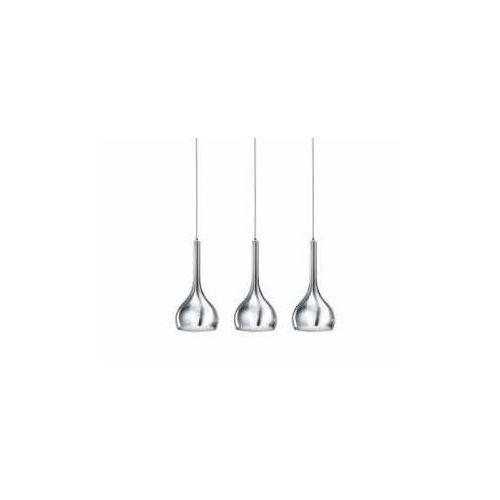 Azzardo Soul 3 LP5114-3CR Lampa wisząca zwis 3x40W E27 chrom - darmowa wysyłka + żarówka LED za 1 zł GRATIS! (5901238416555)