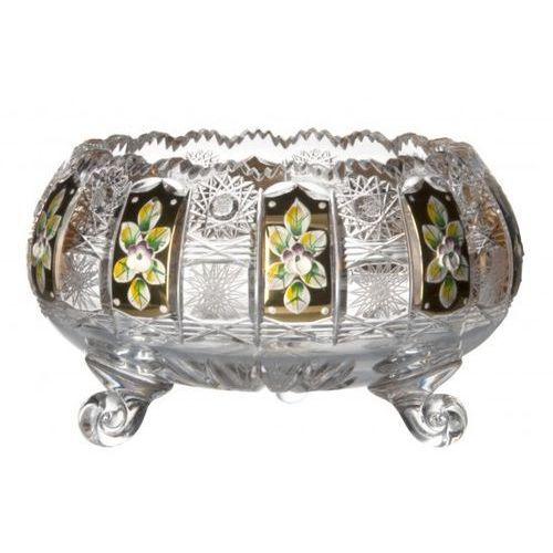 Caesar crystal 175841 półmisek 500k złoto ii, szkło kryształowe bezbarwne, średnica 205 mm