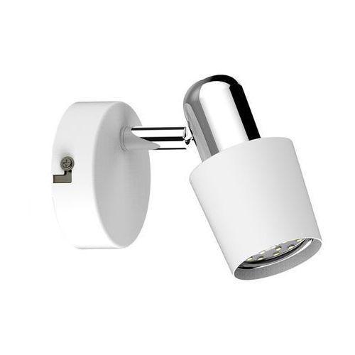 Kinkiet Zuma Line Alex CK99515-1W lampa ścienna spot 1x50W GU10 biały (2011005780925)