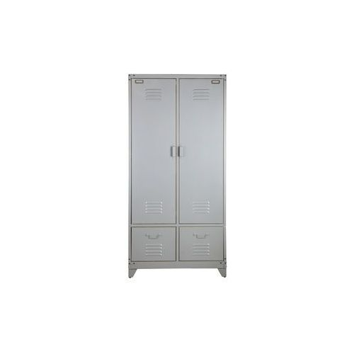Woood Szafa metalowa srebrna - Woood 390907-ZI, 390907-ZI