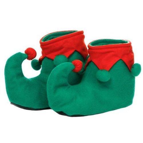 Kraszek Nakładki na buty elfa z pomponikami - rozmiar s (5902557258291)