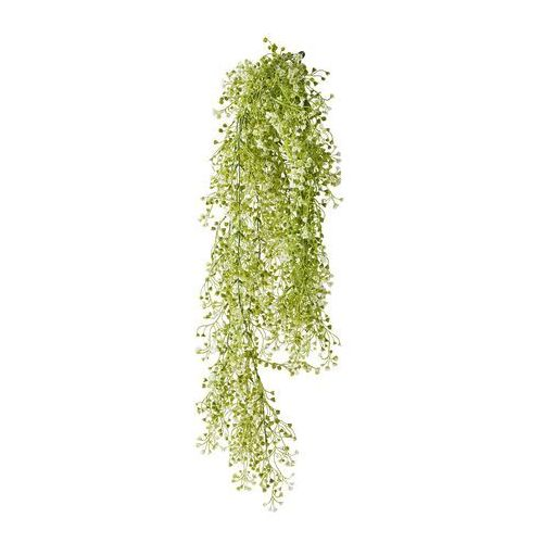 Sztuczna roślina pnąca z małymi kwiatami zielono-biały marki Bonprix