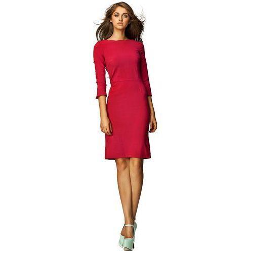 Sukienka - bordo - s30 marki Nife