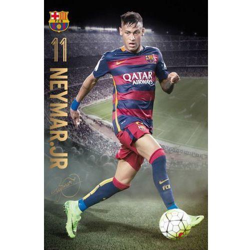 Brak Barcelona neymar action 15/16 - plakat (5028486339488)