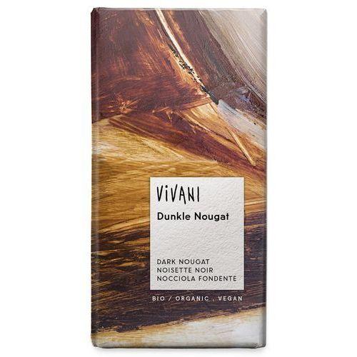 Vivani: czekolada gorzka nugatowa BIO - 100 g (4044889001501)