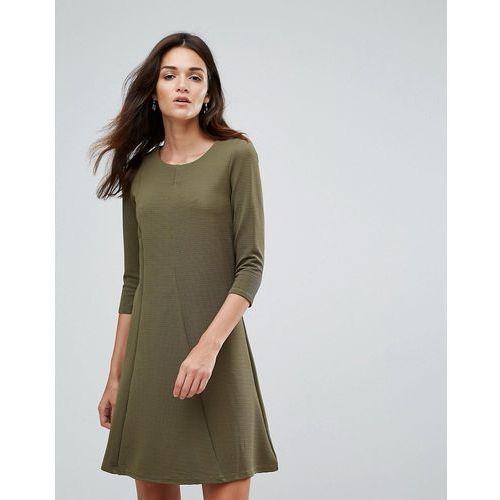 d9e278ca40 Suknie i sukienki · Vila 3 4 Sleeve Skater Dress - Green