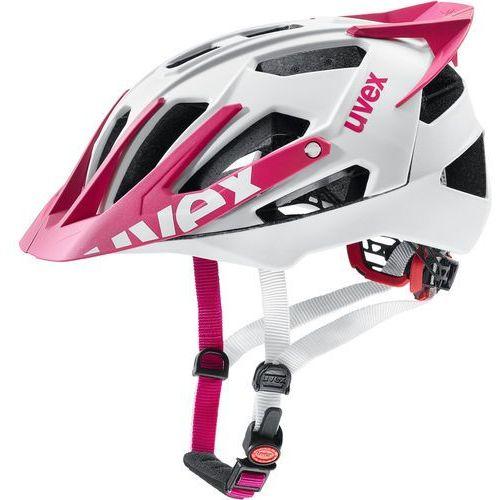 Uvex quatro pro kask rowerowy różowy/biały 52-57cm 2018 kaski rowerowe (4043197295732)