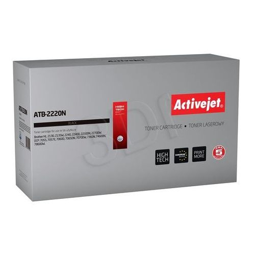 Activejet Toner atb-2220n do drukarek brother (zamiennik brother tn-2220 / tn-2010) [2.6k] (5901443011552)