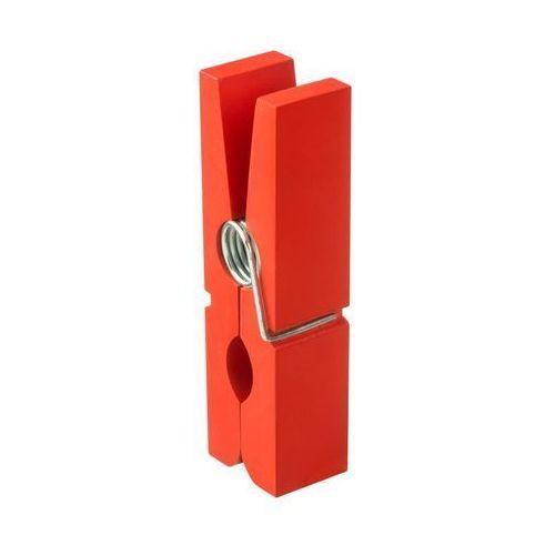Spaceo Półka spinacz czerwona 18 x 5 cm spaceo