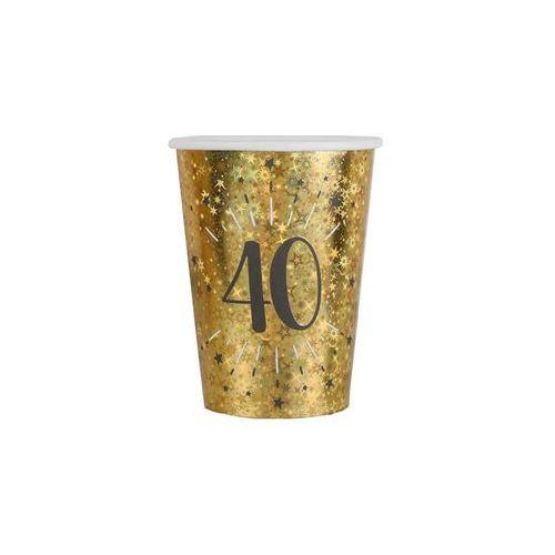Santex Kubeczki na czterdzieste urodziny 40 sparkling - 250 ml - 10 szt.