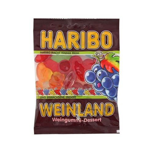 200g weinland żelki niemieckie marki Haribo