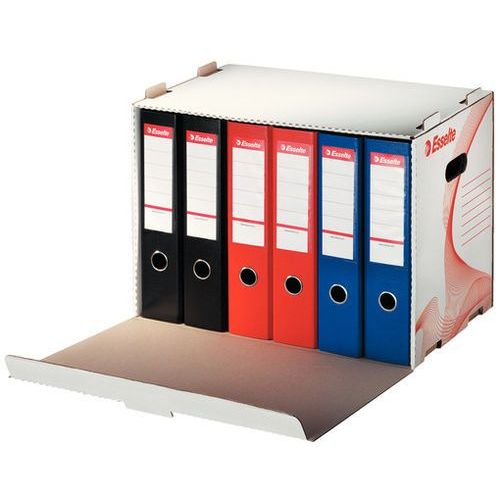 Esselte Pudło archiwizacyjne otwierane z przodu na segregatory białe (525x338x306)