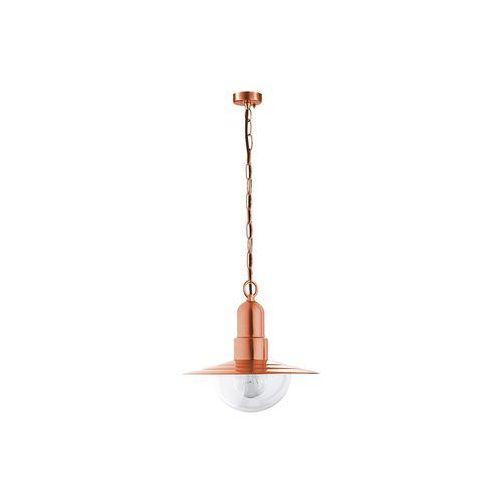 Rabalux Industrialna lampa wisząca tallinn 8545 zewnętrzna oprawa ogrodowa zwis na taras ip44 outdoor miedziany (5998250385457)