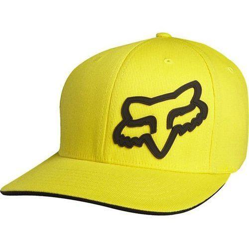 czapka z daszkiem FOX - Signature Flexfit Yellow (005) rozmiar: L/XL, kolor żółty