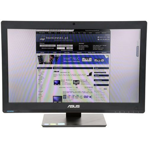 Asus A6420 A6420-BC016X - Intel Core i5 4460S / 21,5'' Full HD / 4 GB / 500 GB / Intel HD Graphics 4600 / DVD+/-RW / Windows 10 Pro lub 7 Pro / pakiet usług i wysyłka w cenie (Zestaw komputerowy)