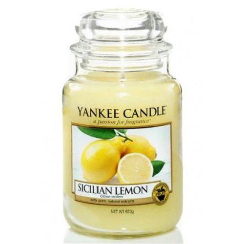 Świeca Yankee Candle - Sicilian Lemon / Sycylijska Cytryna 623g