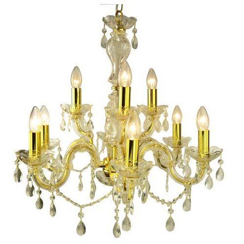 Lampa wisząca Candellux Maria Teresa 9x40W E14 złoty metalik 39-95841, kolor Złoty