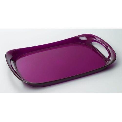 - taca glamour 46 x 30 cm - fioletowa marki Casa bugatti