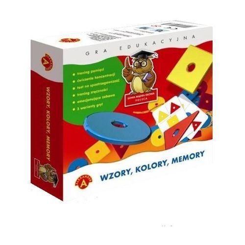 Alexander gra memory wzory, kolory (0457) (5906018004571)