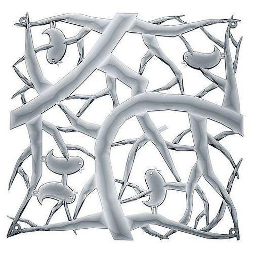 Panel dekoracyjny Pi:P 4 szt. antracytowy transparentny, 2042540
