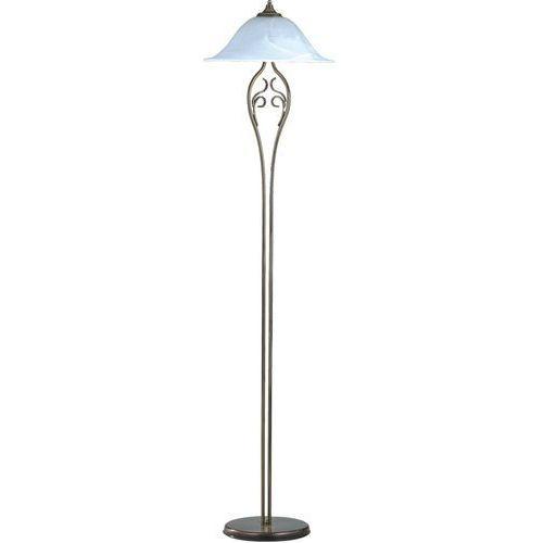 Aldex Lampa klasyczna stojąca podłogowa patyna iii 2x60w e27 patyna / biały 380a