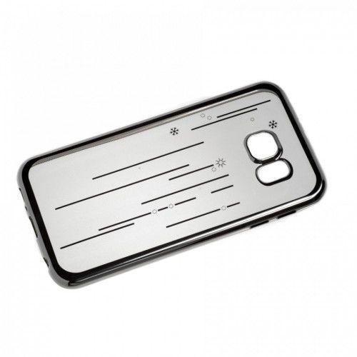 SILICONE SAMSUNG GALAXY S6 SNOWFLAKE SILVER z kategorii Futerały i pokrowce do telefonów