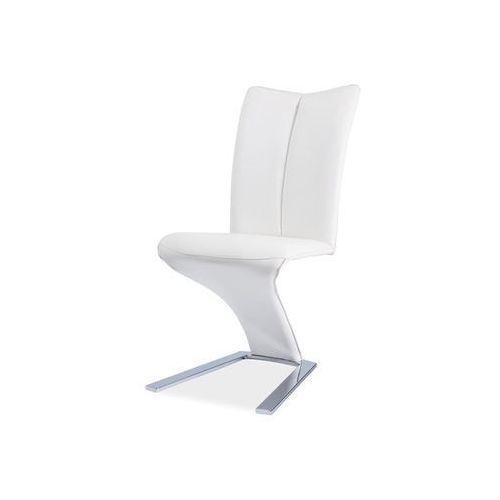 Signal Krzesło h-040 white/chrom
