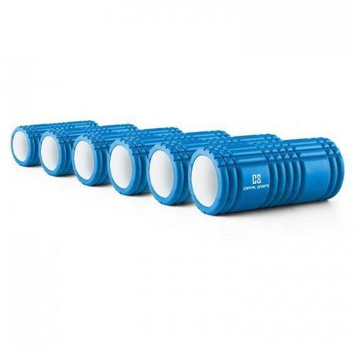 Capital sports Caprole 1 wałek do masażu roler 6 szuk 33 x 14 cm niebieski