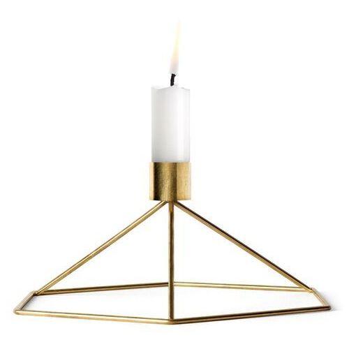 Świecznik stołowy Menu POV brass
