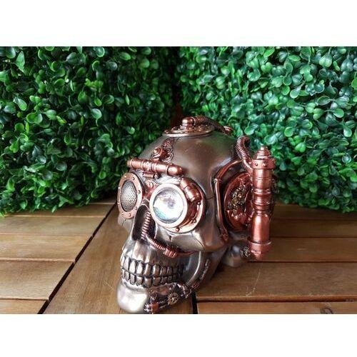 Wspaniała czaszka - szkatułka steampunk (wu76568a4) marki Veronese